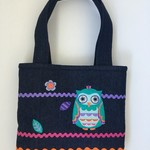 Child's handbag – tote style – owl