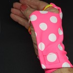 Sunglove: golf, lycra, sun protection, fingerless, palm free