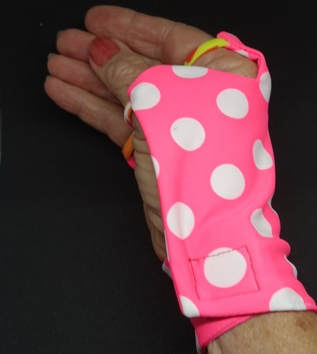 Sunglove: golf, lycra, sun protection, fingerless, palm free
