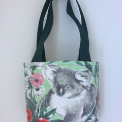 Child's handbag – tote style – retro koala print 2