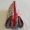 Multi Zipper Bag - Pink/Blue