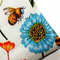 Small Coin Purse in Colourful Floral Fabric