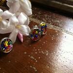 2 pairs of RAINBOW pride inspired earrings, cute LGBTIQA gift, earring set.