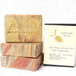 Lilly Pilly & Aloe Vera w/ Peppermint ( all vegan) - Pure Olive Oil Soap 4 boxes