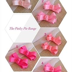 The Pinky Pie Range Hair Clip - Pair
