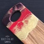 Resin Art Cheeseboard, Abstract Art Serving Board.