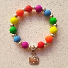 Rainbow Hello Kitty Bracelet