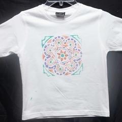 Size 4 Mandala T-Shirt