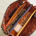 Multi Zipper Bag - Jazzy Orange