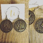 American Style Coin Earrings