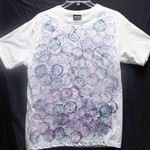 Size 14 White 100% Cotton Printed T-Shirt