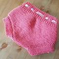 Little Bloomers - Size Newborn - Hand Knitted  - Pure Merino Wool