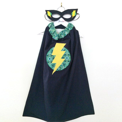 ~ Basic Superhero Set ~ READY TO POST ~ Cape & Mask ~