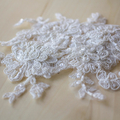 Felicity Ivory Lace Wedding Hair Comb