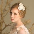 Coco Cotton Ivory Wedding Hair Comb