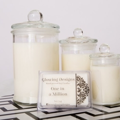 One in a Million scented soy wax candles -Small -  Handmade in Australia
