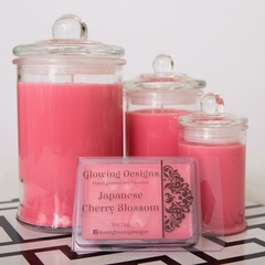 Japanese Cherry Blossom scented soy wax candles - Large - Handmade in Australia