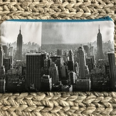 New York skyline pencil case