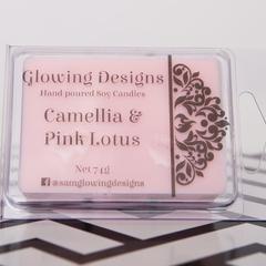 Camellia & Pink Lotus scented soy wax melt/tart - Handmade in Australia