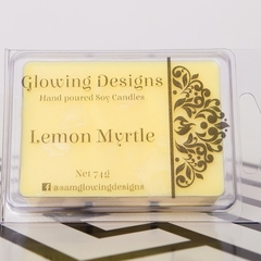 Lemon Myrtle scented soy wax melt - Handmade in Australia