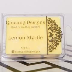 Lemon Myrtle scented soy wax melt - Handmade in Australia