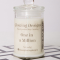 One in a Million scented soy wax candles - Medium - Handmade in Australia