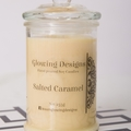 Salted Caramel scented soy wax candle - Large -  Handmade in Australia