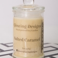 Salted Caramel scented soy wax candle - Medium -  Handmade in Australia