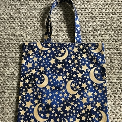 The moon and the stars library/shopping bag
