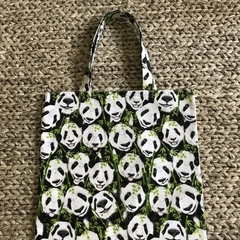 Panda library/shopping bag