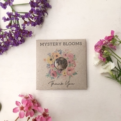 Thankyou Mystery Blooms, seed surprise thank you gift