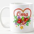 Mum, Gran, Oma, any Mother or Grandmother Personalise Mug