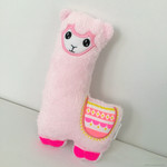Free Shipping Super soft Llama Alpaca plush toy stuffed animal handmade pink