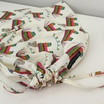 'LLAMA FIESTA' Drawstring / Library / Sheet Bag