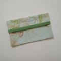 Tissue Holder - Rose/Dragonfly - Pastel Floral - Bag Accessory - Practical Gift