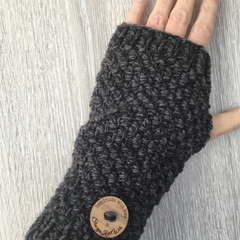 Knitted Handwarmers Pattern, Fingerless gloves pattern, gloves pattern, knitted