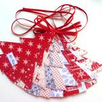 Scandi Christmas Tree Garland, Ready to ship, Free domestic shipping
