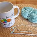Crochet Phrase Mug - I'm a Hooker...