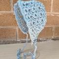 Crochet Newborn Bonnet