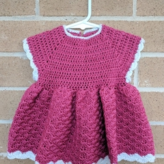 Crochet dress - suitable for 3-6 month
