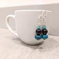 Earrings - Chrysocolla