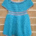 Crochet dress - suitable for 12 months