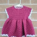 Crochet dress - suitable for 3-6 month