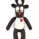 'Randy' the Sock Reindeer - Christmas  - *READY TO POST*