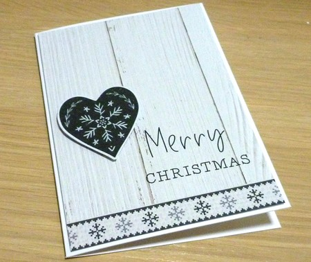 Merry Christmas card - male - husband - boyfriend