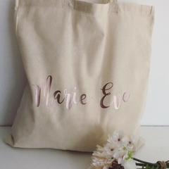 Bridesmaid Tote, Bridal Tote, Bridesmaid Gift, Wedding Tote, Personalised Weddin