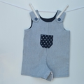Unisex baby and toddler overall, summer rompers, baby gift