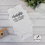 #babylife Milk Snuggle Nap  Repeat baby bodysuit. Baby Shower New Born Present