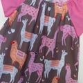 Size 3 Lama dress.
