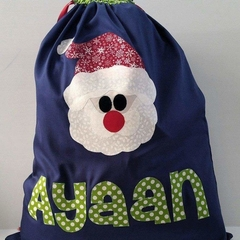 Personalised Character Santa Sacks - small name (up to 5 letters)